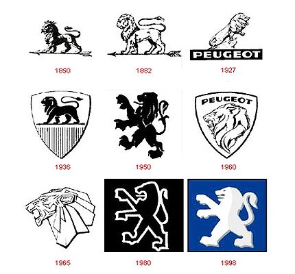 Cars with Lion Logo - Peugeot Logo - Design and History of Peugeot Logo