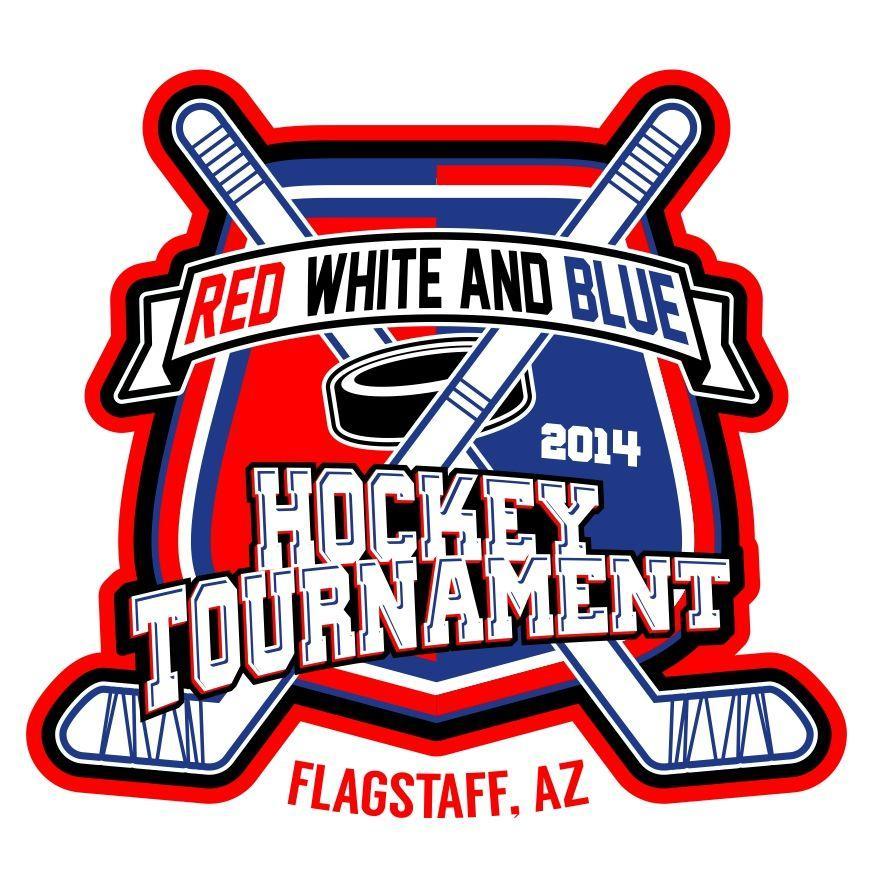 Red White Blue Hockey Logo Logodix