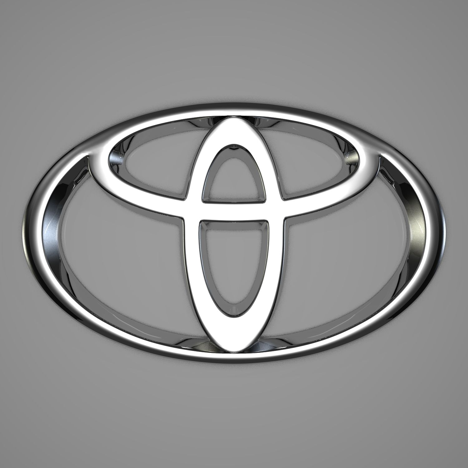 Black and Silver Car Logo - Toyota Logo, Toyota Car Symbol Meaning and History | Car Brand Names.com