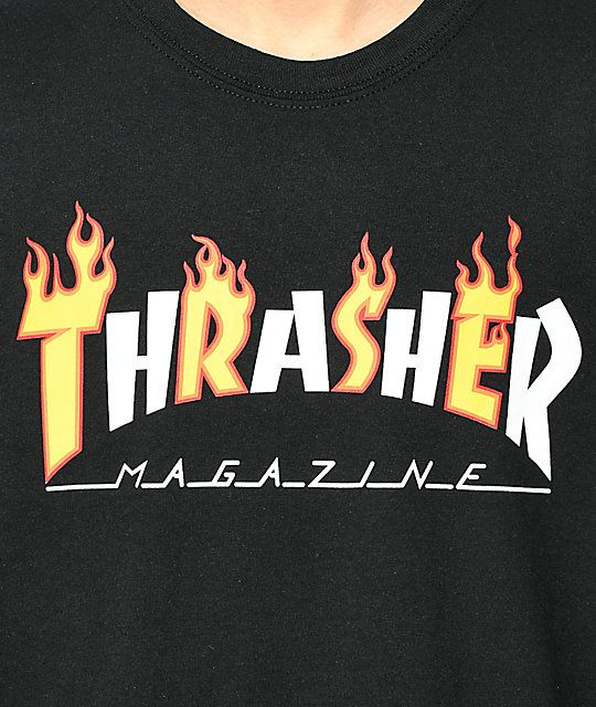 Magazine Thrasher Flame Logo Logodix