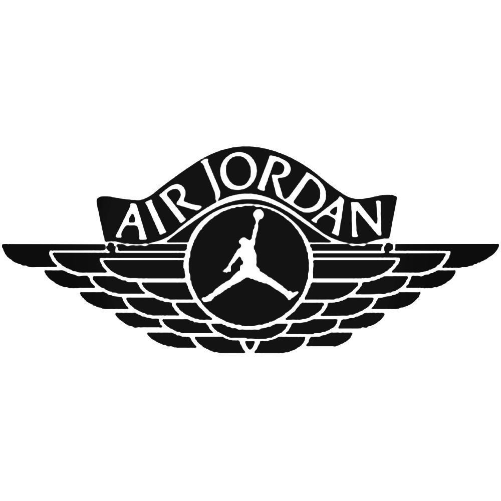 Air Jordan Logo - Air Jordan Logo Decal Sticker