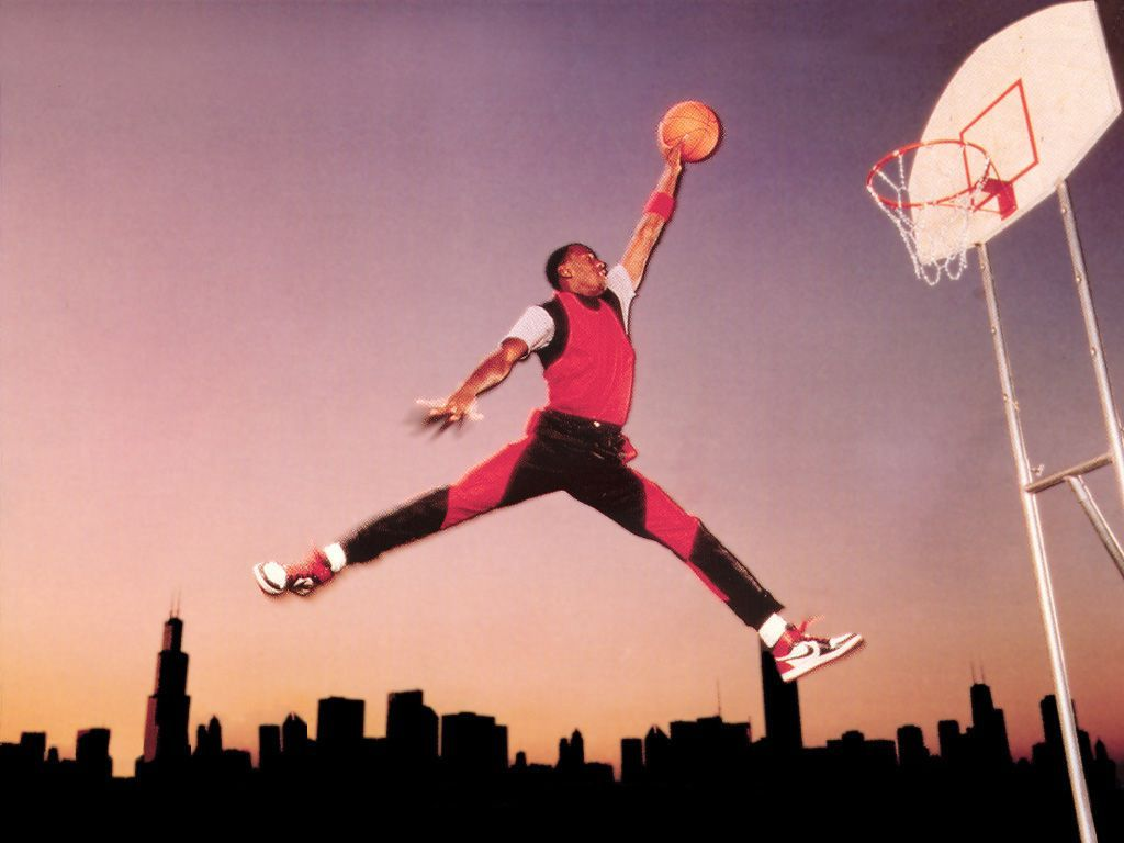 Air Jordan Logo - The original photo that the Air Jordan logo was based off of : sports