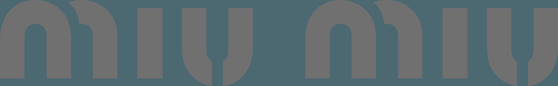 Miu Miu-logo - Miu Miu-handtassen en -accessoires |  Luxussachen.com