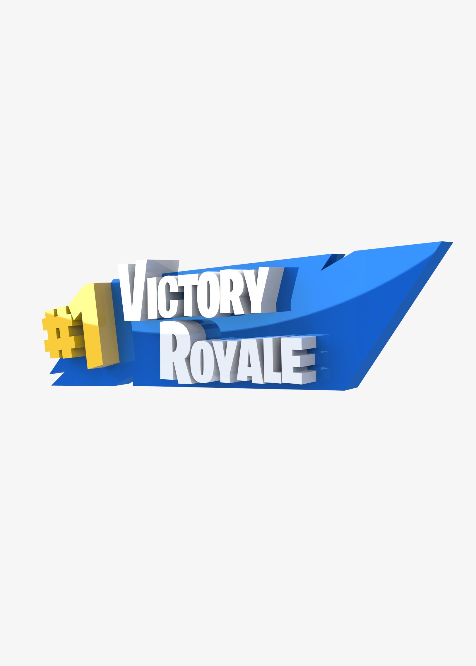 Fortnite Victory Royale Logo Logodix