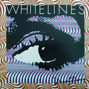 White and Blue Lines Logo - Duran Duran - White Lines (Vinyl, 12