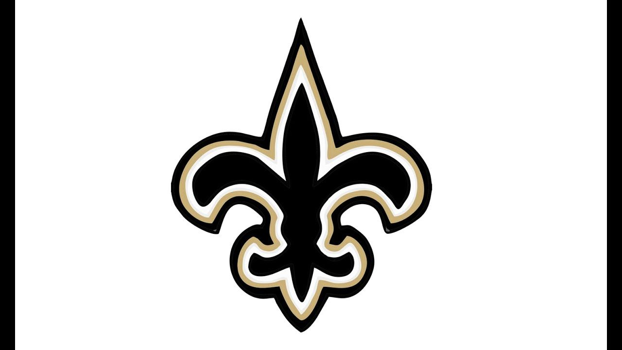 New Orleans Saints Logo - How to Draw the New Orleans Saints Logo (NFL) - YouTube