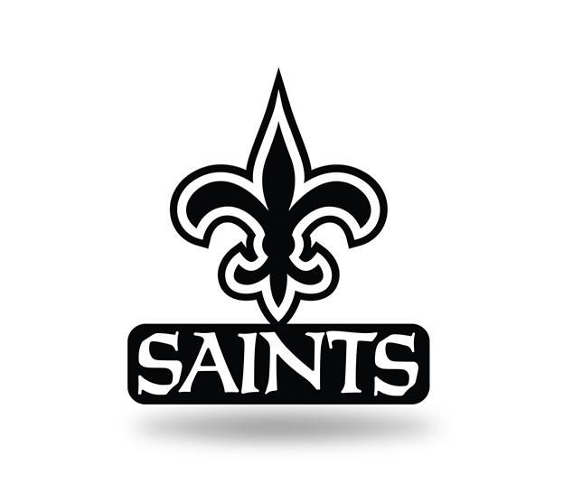 New Orleans Saints Logo - New Orleans Saints Logo 3D Color Magnet NEW!! Rico – Hub City Sports