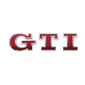 Red and Silver S Car Logo - Sumex Log1655 Gti Emblem - Chrome/ Red - Chrome Silver Car Logo ...