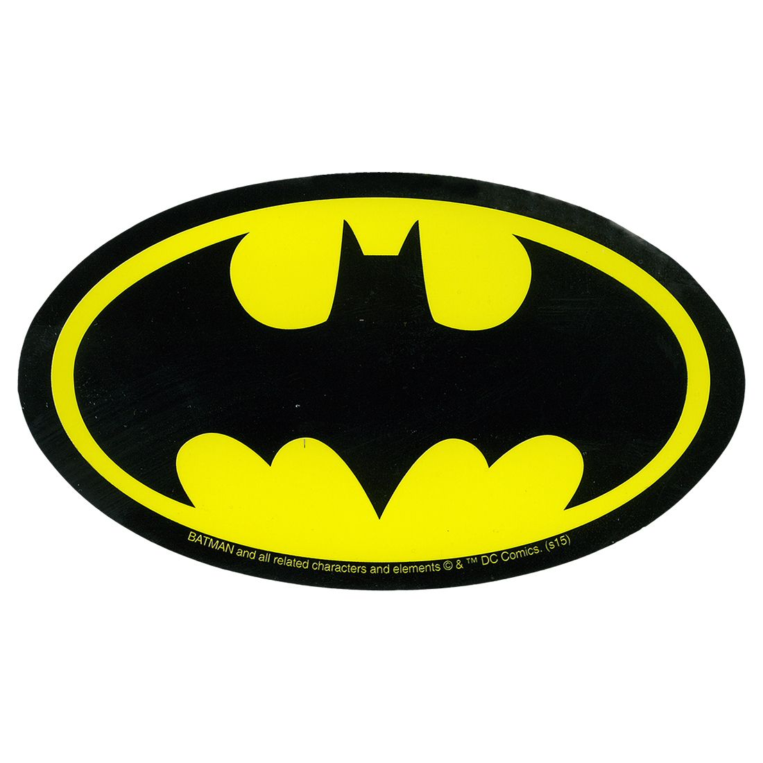 Batman Logo - Batman Logo Sticker Liquid Blue