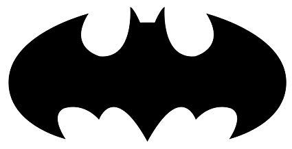 Batman Logo - Amazon.com: Batman Logo Decal Sticker, White, Black, or Silver, H ...