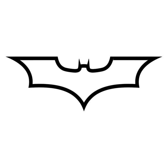 Batman Logo - 19*6.8CM Batman Logo Dark Knight Fashion Decal Car Body Car Styling ...
