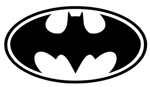 Batman Logo - Batman Logo Printable Template | Free Printable Papercraft Templates