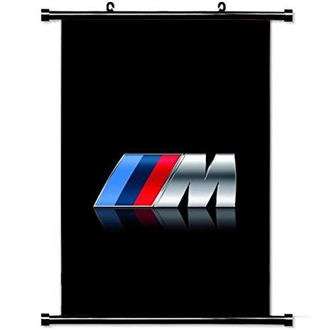 BMW M Logo - Amazon.com: Art Poster with Bmw M Series Logo Car Wall Scroll Poster ...