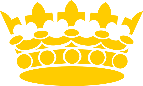 Yellow Gold Crown Logo - Gold crown Logos