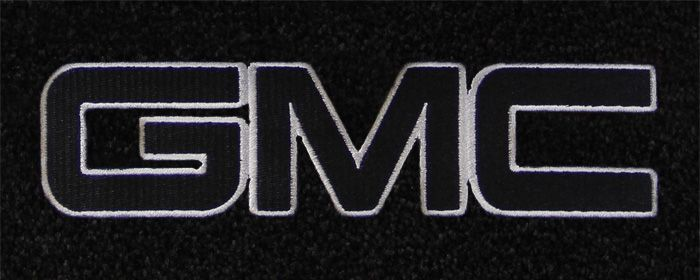 GMC Logo - custom fit gmc logo floor mats for all gmc cars and vehicles