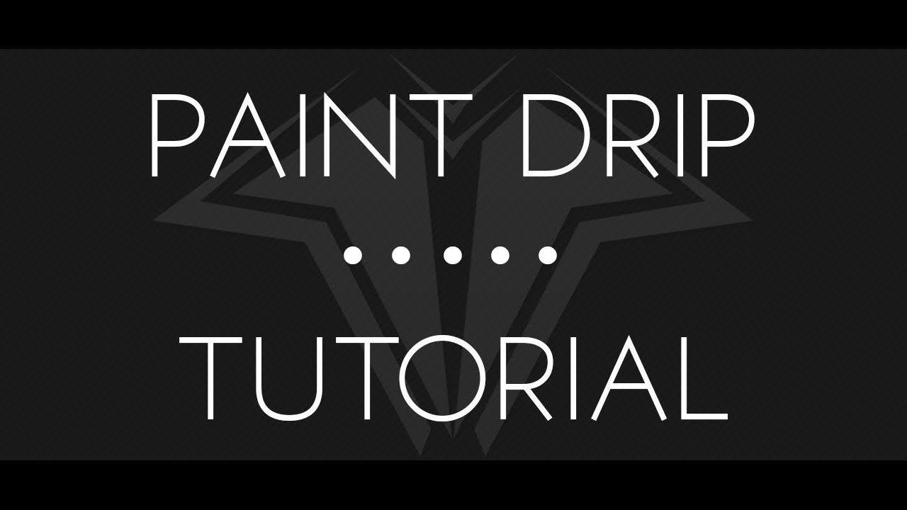 Drip Paint Logo - LogoDix