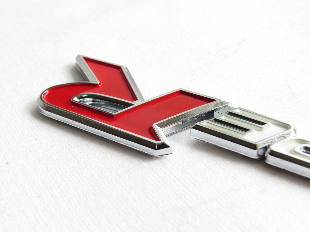 Red and Silver S Car Logo - New Red & Silver