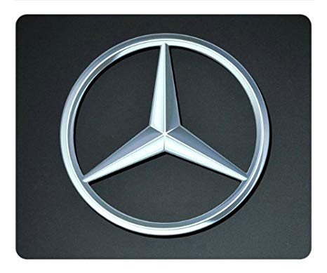 Mercedes-Benz Logo - Mercedes-Benz Logo 005 rectangle Mouse Pad by eeMuse: Amazon.co.uk ...