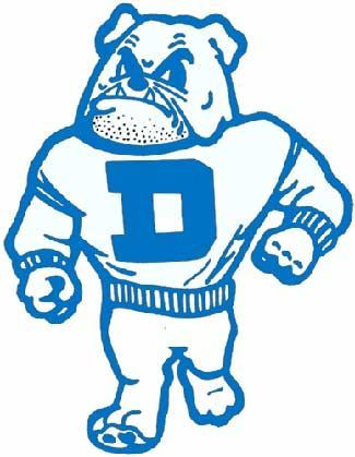 Drake University Logo - Here's to the one that wears the D...