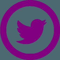Purple Twitter Logo Logodix