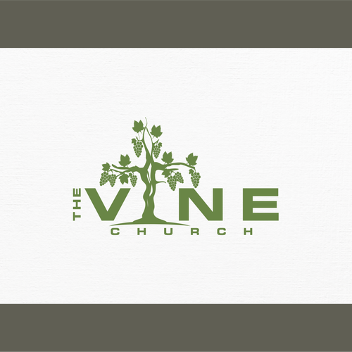 Vine Logo - the Vine - Organic logo design for an organic church | Logo design ...