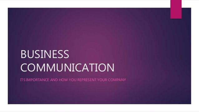 Business Communication Logo - Business communication