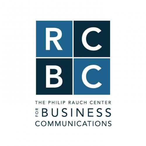 Business Communication Logo - Rauch Center for Business Communications | Fusion Studio