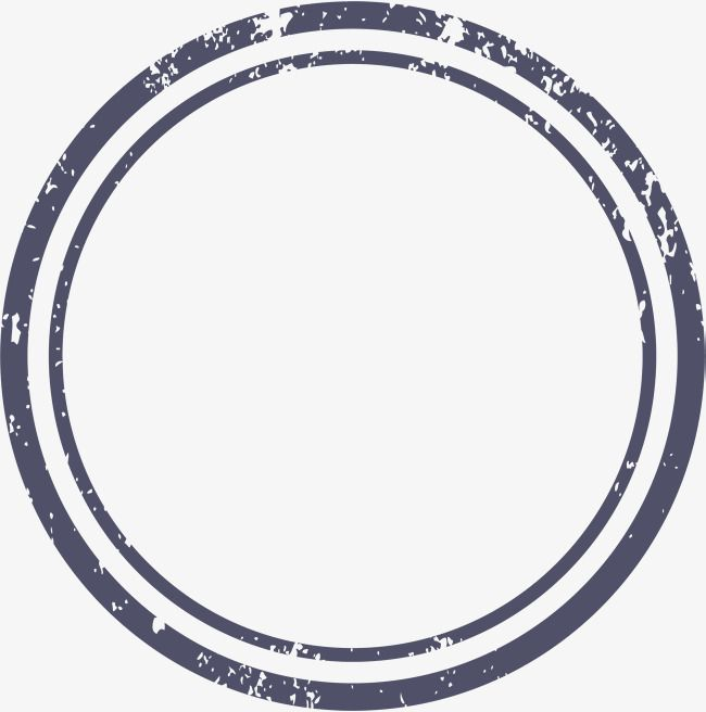 Dark Blue Circle Logo - Dark Blue Circle Border, Vector Png, Linear, Line Border PNG and ...