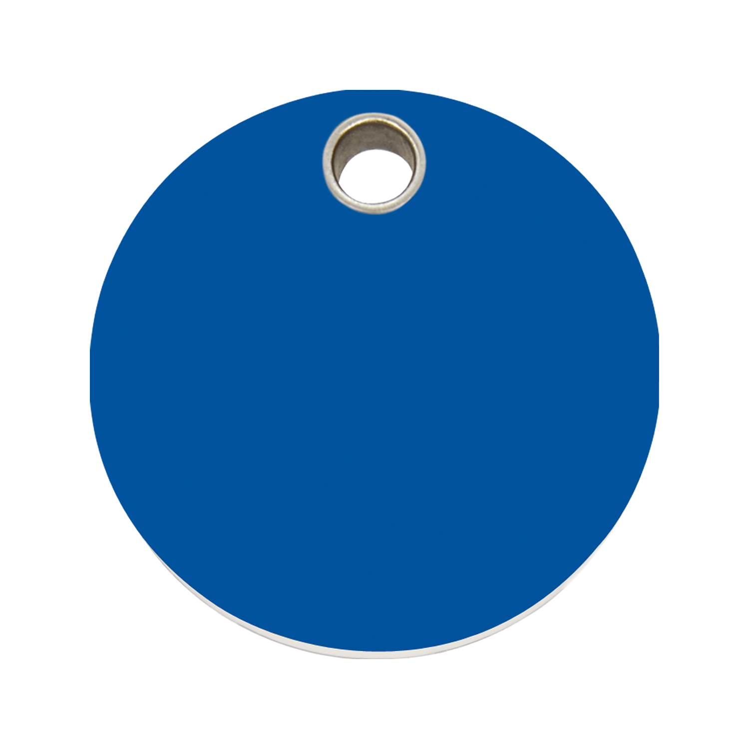 Dark Blue Circle Logo - Red Dingo Plastic Tag Circle Dark Blue 04-CL-DB (4CLNS / 4CLNM ...
