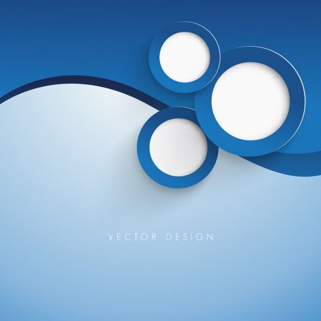 Dark Blue Circle Logo - Dark blue circles background Vector | Free Download