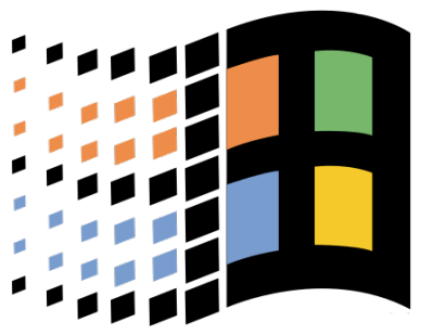 Vaporwave Windows 95 Logo Logodix