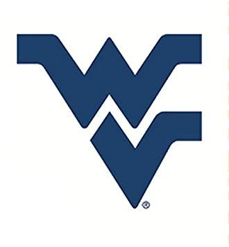 West Virginia University Logo - Amazon.com: 5 Inch WV Logo Decal WVU West Virginia University ...