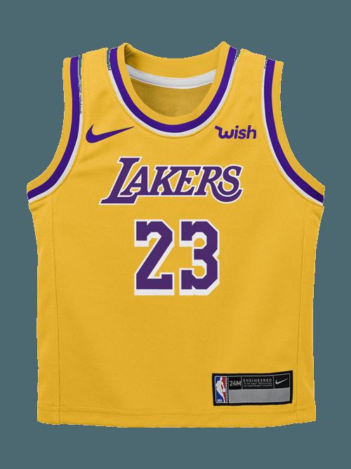 wholesale dealer 91474 f983f Lakers Wish Logo - LogoDix