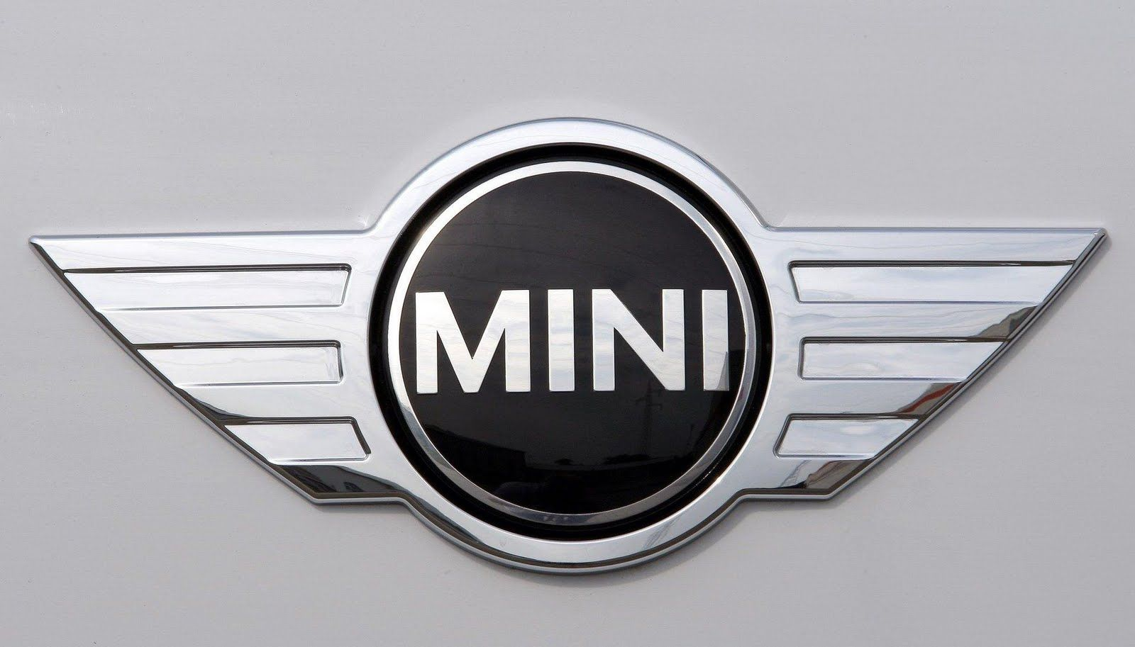 Black and Silver Car Logo - Mini Cooper Logo, Mini Car Symbol Meaning and History | Car Brand ...