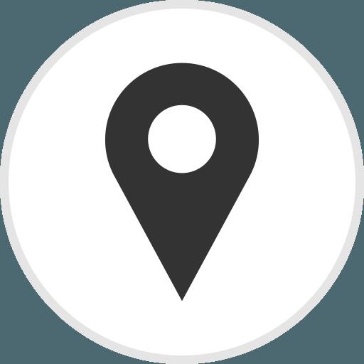 Location White Logo - LogoDix