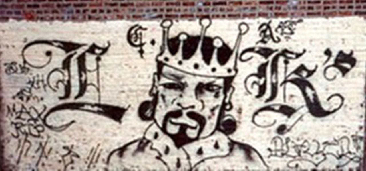 Crip Crown Logo - how to identify gang graffiti (P1) « ink and paint :: WonderHowTo